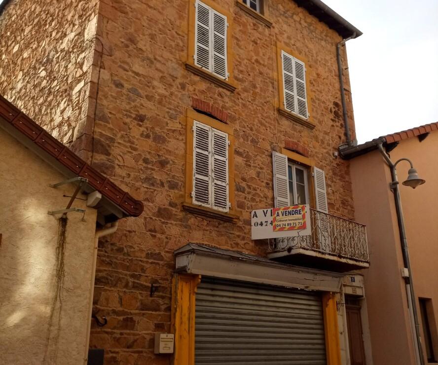 Vente Immeuble 180m² Cours-la-Ville (69470) - photo