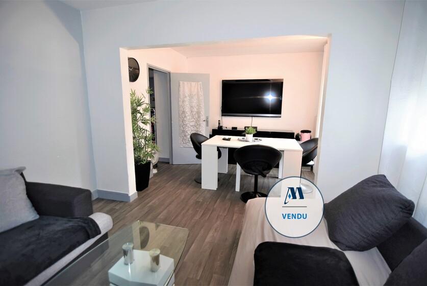 Vente Appartement 3 pièces 64m² Saint-Martin-d'Hères (38400) - photo