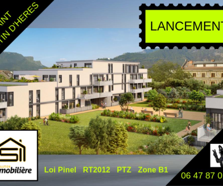 Sale Apartment 2 rooms 49m² Saint-Martin-d'Hères (38400) - photo