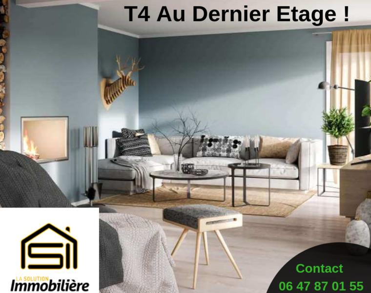 Vente Appartement 4 pièces 79m² Domène (38420) - photo