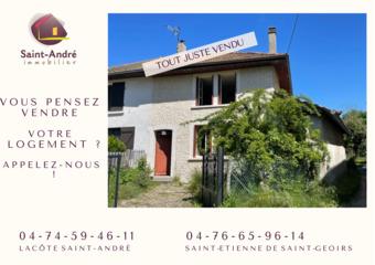 Vente Maison 4 pièces 73m² Saint-Pierre-de-Bressieux (38870) - Photo 1