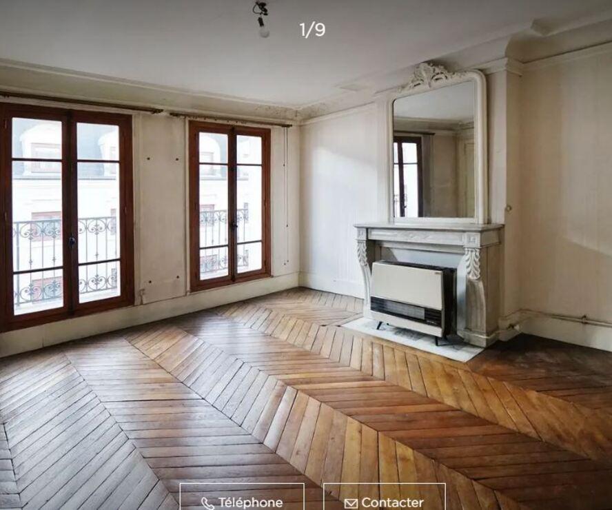 Vente Appartement 80m² paris - photo