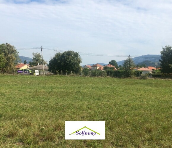 Vente Terrain 600m² Aoste (38490) - photo