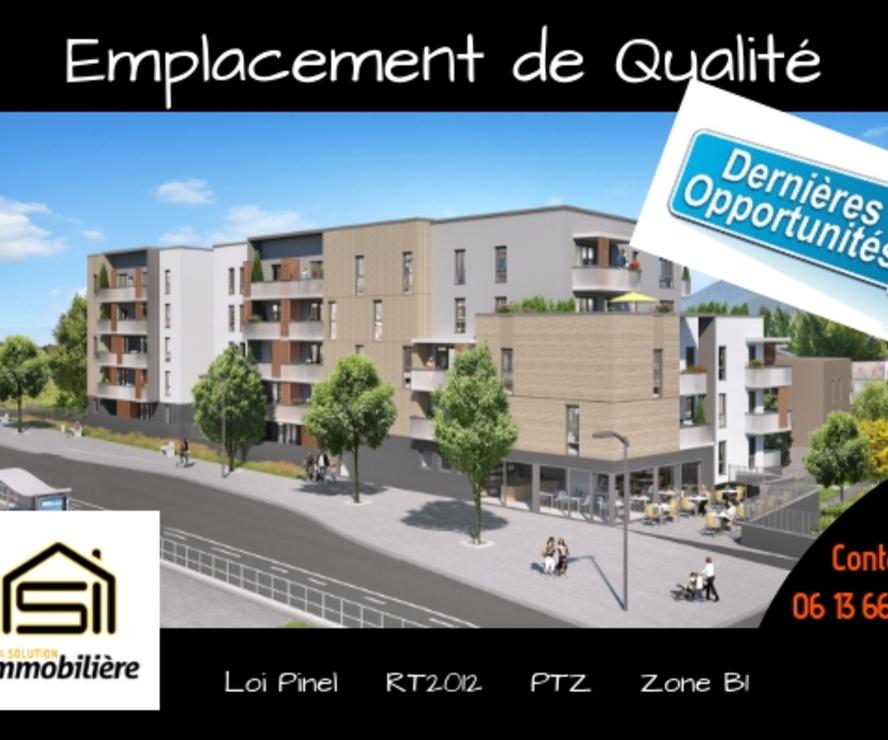 Vente Appartement 3 pièces 60m² Saint-Égrève (38120) - photo