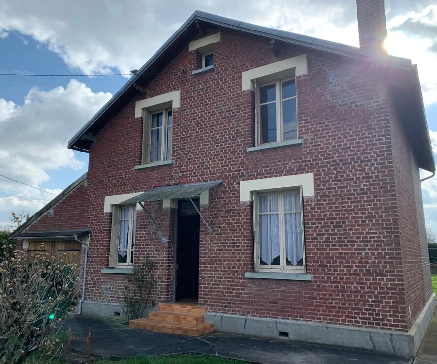Vente Maison 6 pièces 100m² Abbécourt (02300) - photo