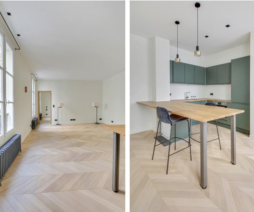 Vente Appartement 2 pièces 58m² Paris 06 (75006) - photo