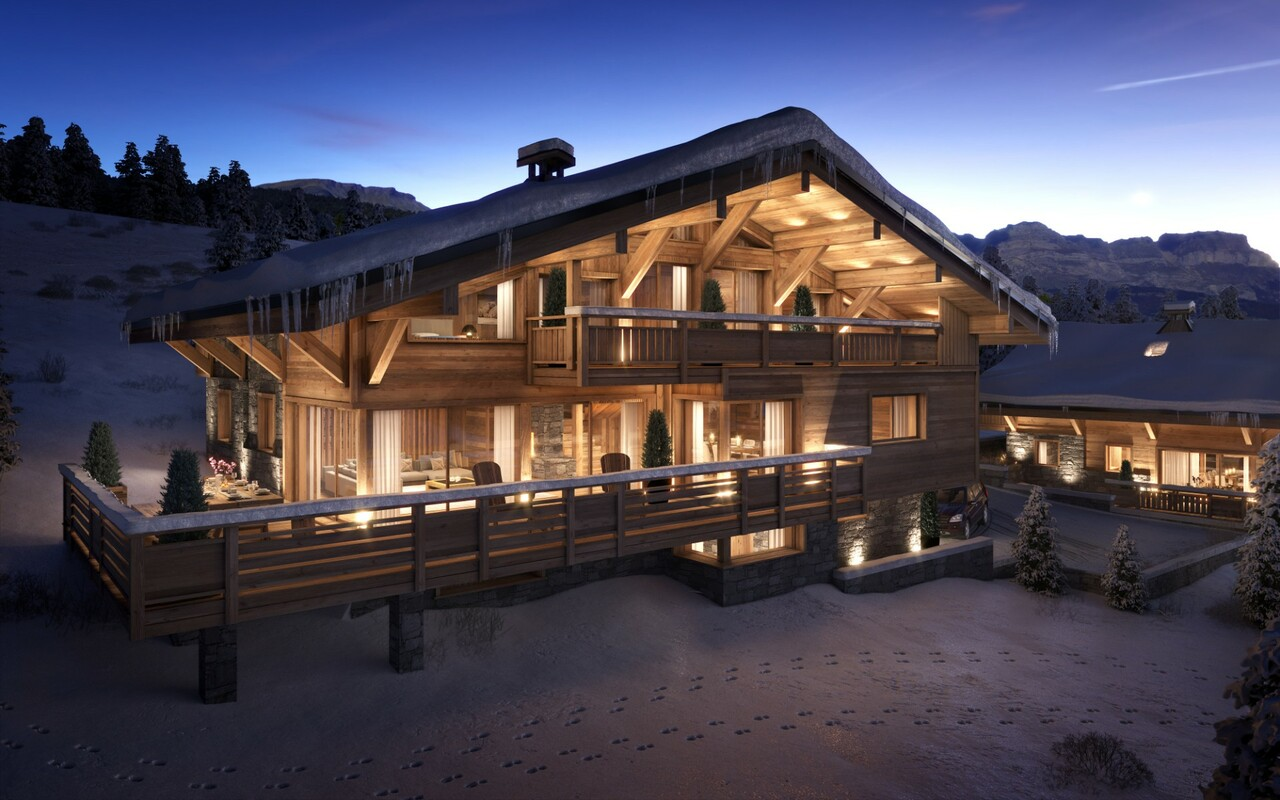 Photo of HIGH-END CHALET LOCATED IN COMBLOUX
