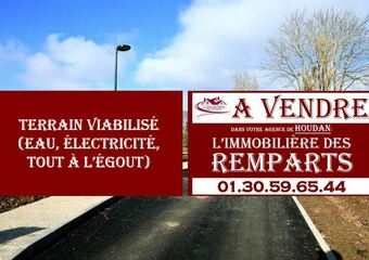 Vente Terrain 1 007m² Houdan (78550) - photo