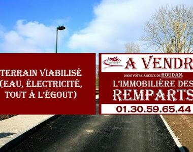 Vente Terrain 950m² Houdan (78550) - photo