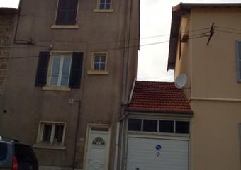 Vente Maison 3 pièces 60m² Cours-la-Ville (69470) - photo