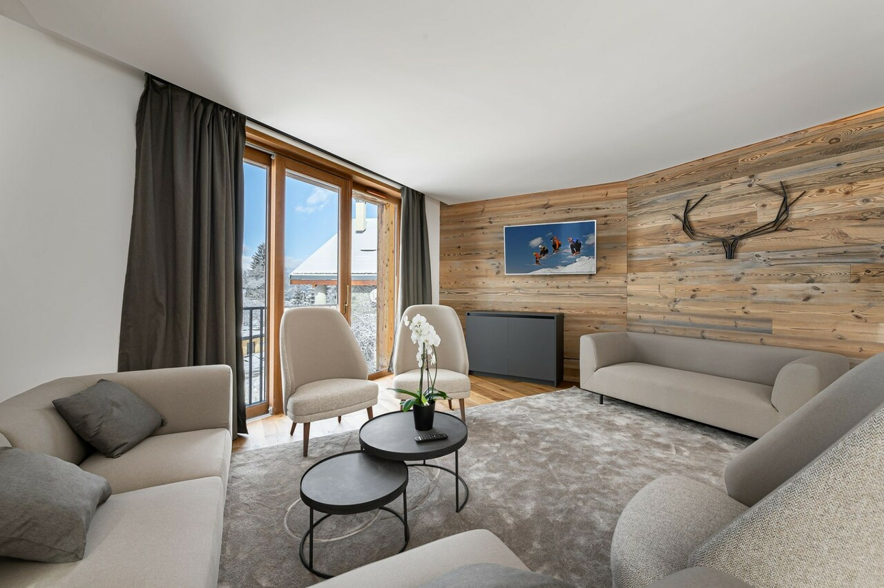 NEW HIGH STANDING PROGRAM Accommodation in Courchevel