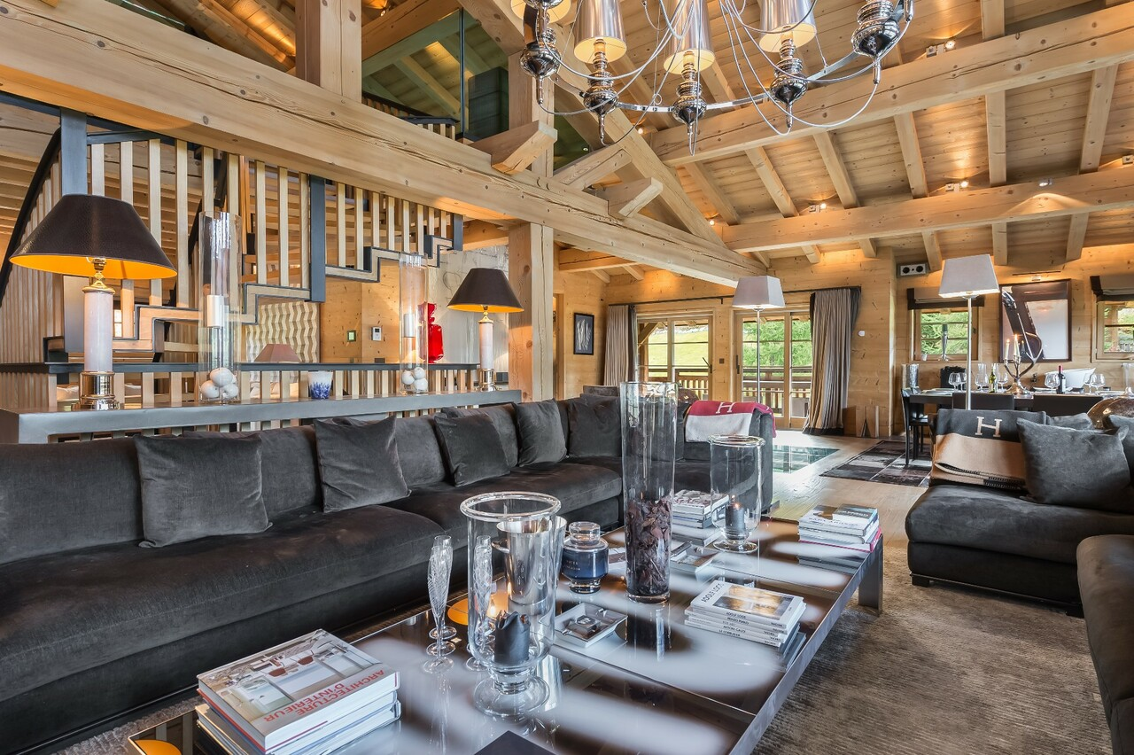 SUPERB MODERN CHALET Chalet in Megeve