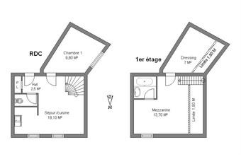 Location Appartement 3 pièces 56m² Meyzieu (69330) - Photo 1