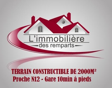 Sale Land 2 000m² Houdan (78550) - photo