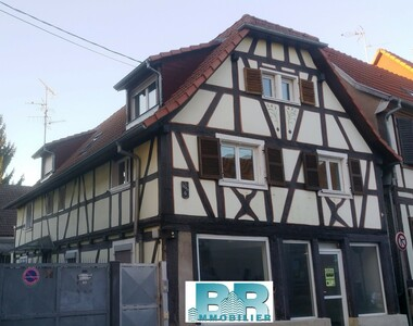 Location Local commercial 2 pièces 44m² Brumath (67170) - photo