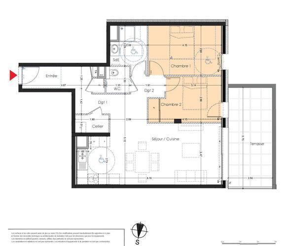 Vente Appartement 3 pièces 70m² Albertville (73200) - photo