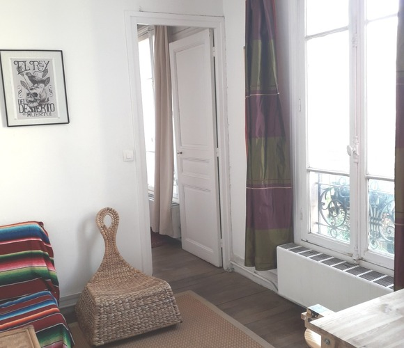 Vente Appartement 3 pièces 39m² Paris 19 (75019) - photo