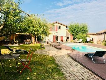 Vente Maison 6 pièces 170m² Saint-Didier-sur-Chalaronne (01140) - Photo 1