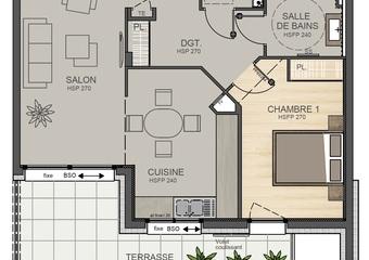 Vente Appartement 2 pièces 60m² Albertville (73200) - Photo 1