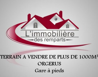 Sale Land 1 078m² Orgerus (78910) - photo