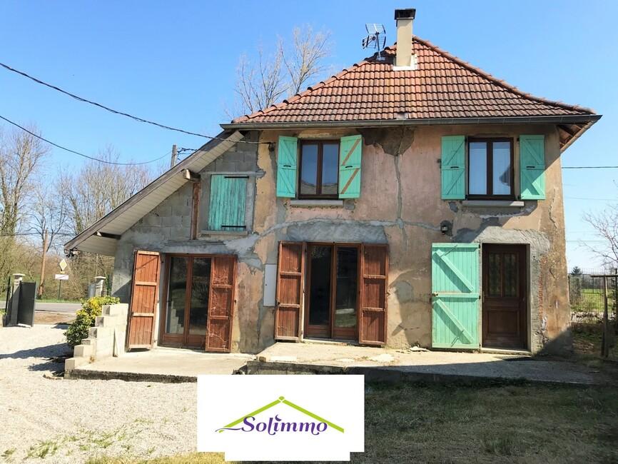 Vente Maison 5 pièces 75m² Les Abrets (38490) - photo