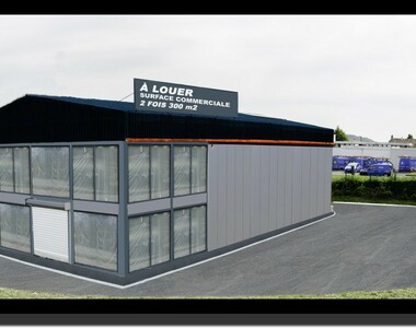 Location Local commercial 600m² Montivilliers (76290) - photo