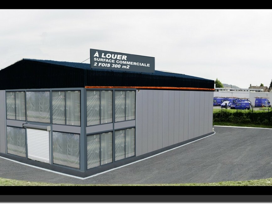 Location local commercial montivilliers 76290 297361 for Location garage montivilliers