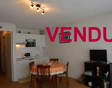 Vente Appartement 1 pièce 25m² Le Touquet-Paris-Plage (62520) - photo