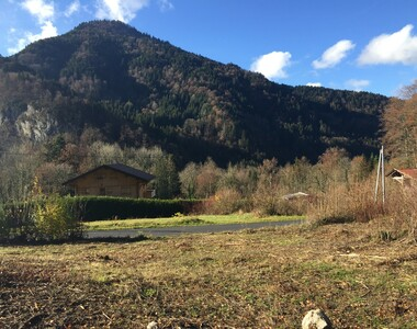 Vente Terrain 1 000m² Vailly (74470) - photo