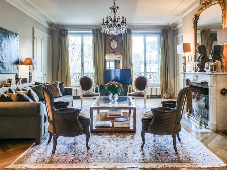 Vente Appartement 5 pièces 123m² Paris 08 (75008) - photo