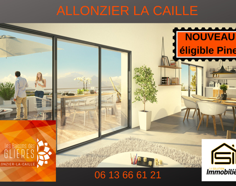 Vente Appartement 4 pièces 91m² Allonzier-la-Caille (74350) - photo