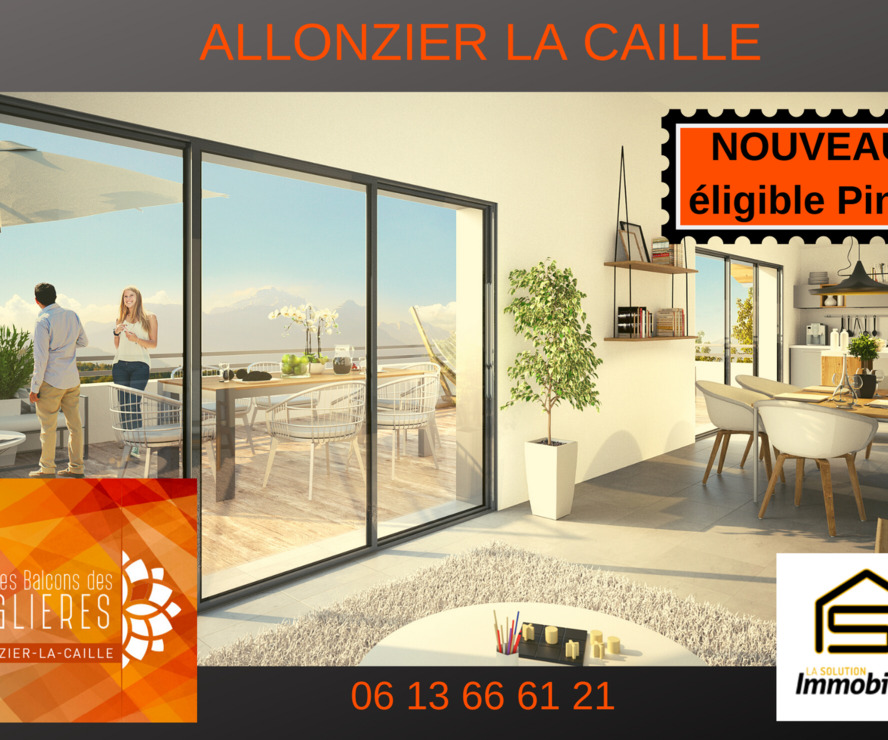 Vente Appartement 3 pièces 70m² Allonzier-la-Caille (74350) - photo