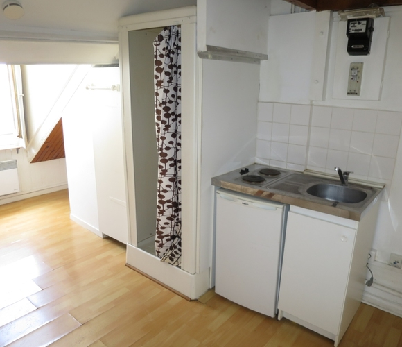 Location Appartement 1 pièce 9m² Grenoble (38000) - photo