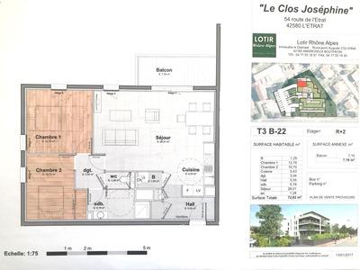 Location Appartement 3 pièces 73m² L' Étrat (42580) - Photo 8