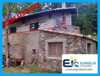 Vente Maison 4 pièces 65m² Marcols-les-Eaux (07190) - photo