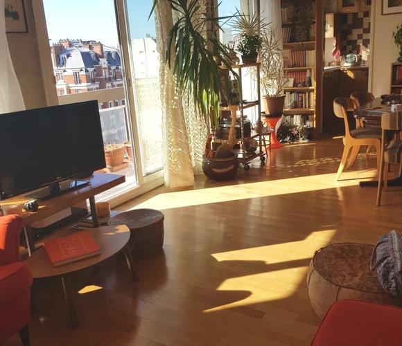 Sale Apartment 2 rooms 61m² Paris 19 (75019) - photo