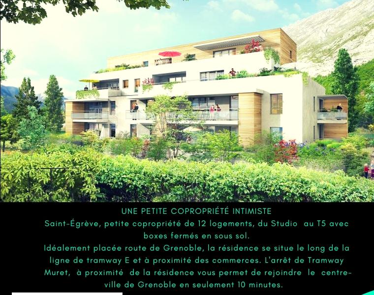 Sale Apartment 4 rooms 75m² Saint-Égrève (38120) - photo