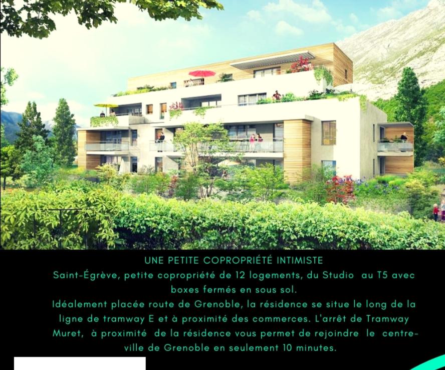 Vente Appartement 3 pièces 71m² Saint-Égrève (38120) - photo