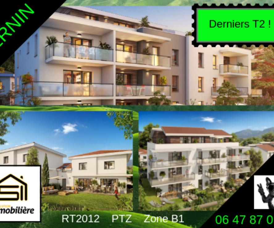 Sale Apartment 2 rooms 46m² Bernin (38190) - photo