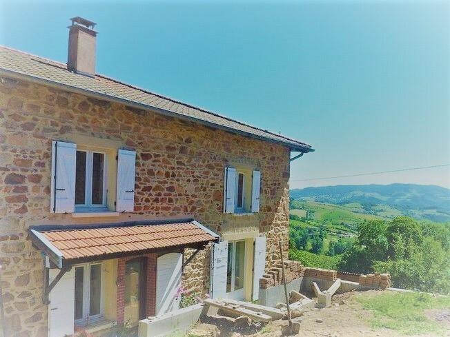 Vente Maison 8 pièces 153m² Saint-Just-d'Avray (69870) - photo