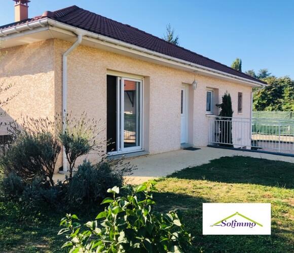 Vente Maison 4 pièces 102m² Les Abrets (38490) - photo