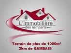 Vente Terrain 1 086m² Gambais (78950) - Photo 1