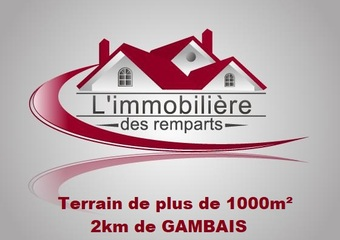 Vente Terrain 1 086m² Gambais (78950) - photo