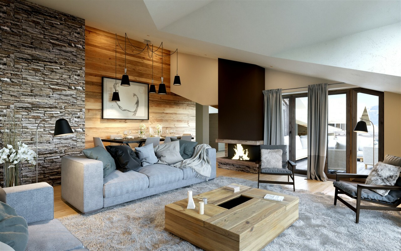 BRAND NEW DUPLEX LUXURY APARTMENT Chalet in Courchevel