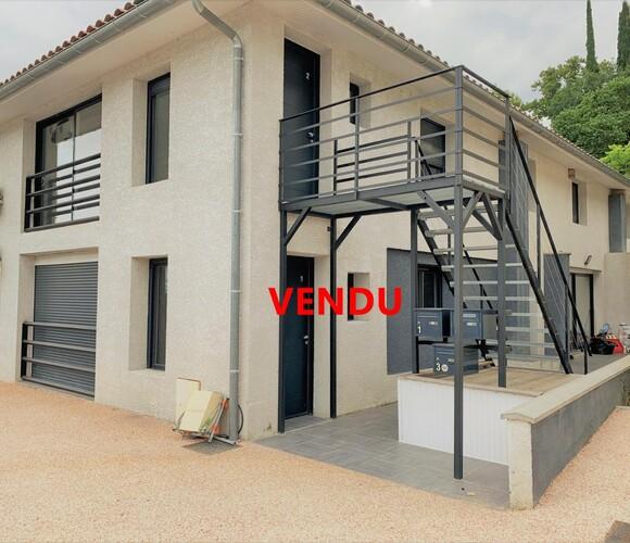 Vente Appartement 3 pièces 67m² L'Isle-Jourdain (32600) - photo