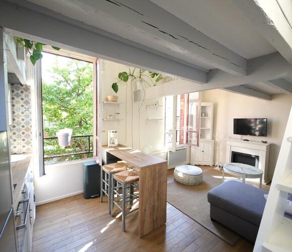 Location Appartement 2 pièces 30m² Suresnes (92150) - photo