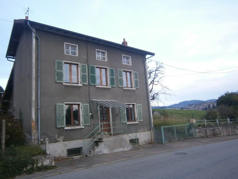 Vente Maison 4 pièces 130m² Cours-la-Ville (69470) - photo
