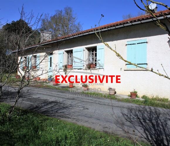 Vente Maison 6 pièces 157m² Samatan (32130) - photo
