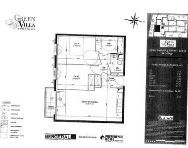 Location Appartement 3 pièces 57m² Rambouillet (78120) - photo