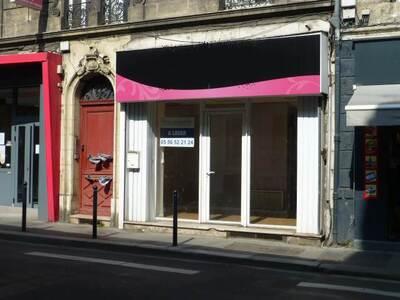 Location Local commercial Bordeaux (33000) - photo